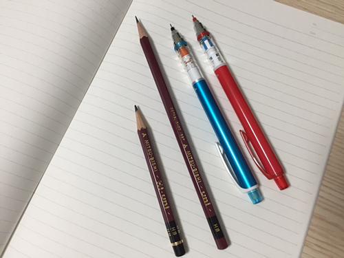uni鉛筆とクルトガ
